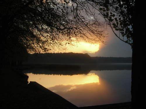 goldener Sonnenuntergang  © Astrologin Bärbel Zöller