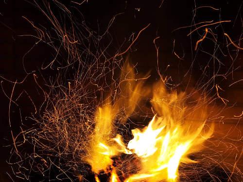 Feuer in der Silvesternacht © Astrologin Bärbel Zöller