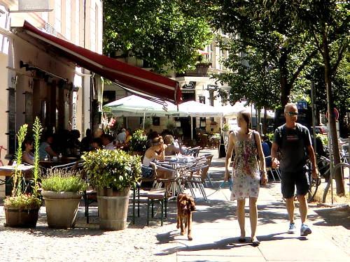 Kollwitzplatz im Sommer © Astrologin Bärbel Zöller